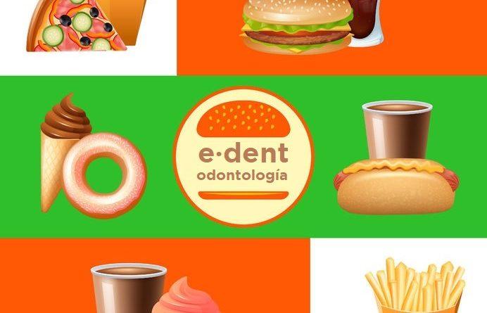 La salud dental y la comida rápida